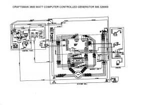 craftsman generator wiring diagram craftsman free engine image for user manual