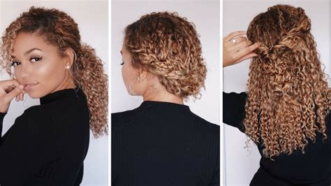hairstyles type 3 super easy hairstyles for 3b 3c curly hair bella kurls