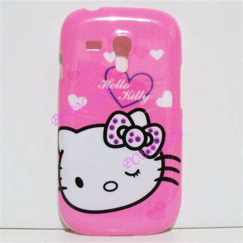 hello kitty themes samsung s3 mini hello kitty p phone case protector for samsung galaxy