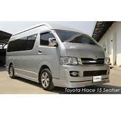 Toyota Hiace Hire Bali  Mini Bus Or Commuter Charter