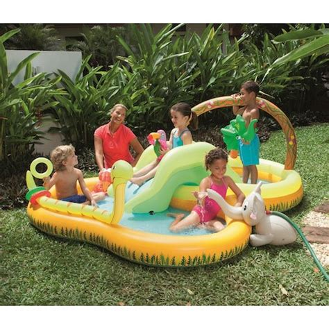 Backyard Pools Toys R Us Sizzlin Cool Jungle Play Pool Toys R Us