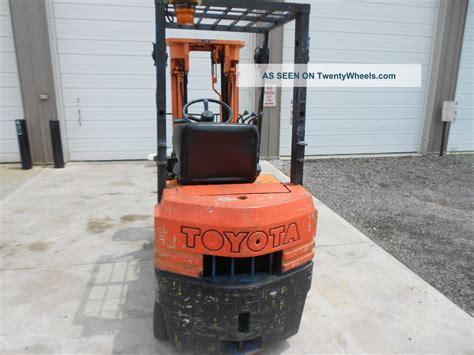 5fgc15 Toyota Forklift Toyota 5fgc15 Parts