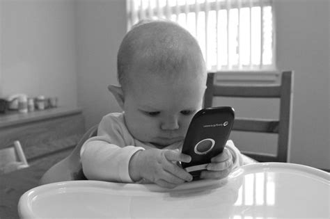 Baby Phone Meme - people spending more than 60 hours a week staring at