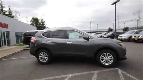 grey nissan rogue 2015 2014 nissan rogue sv gun metal gray ec858953 kent