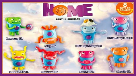 dreamworks home mcdonald s happy meal toys 2015 all