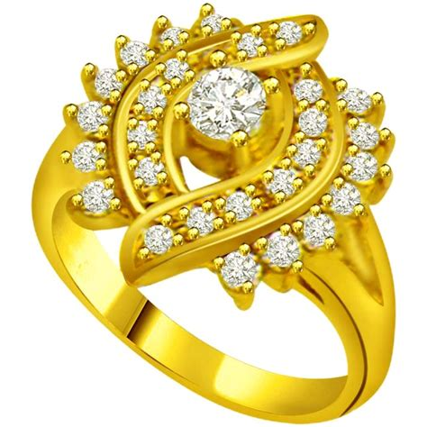 Image Of Gold Ring by Floral Ring Flower Shape Rings Rings