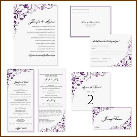 free invite templates for word free printable wedding invitation templates for word