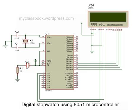digital stopwatch   microcontroller electronics