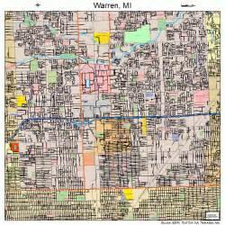 warren map warren michigan map 2684000