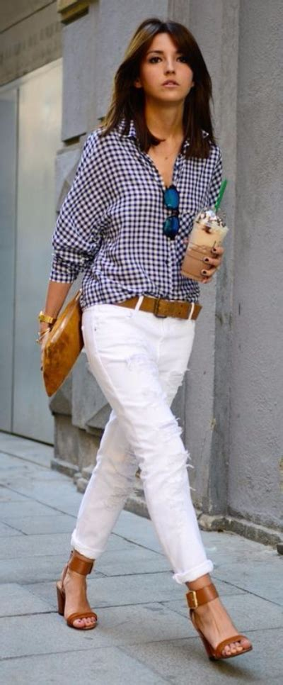 The White Jean Is All About And Summer by Summer Denim Ways To Style White Fashion