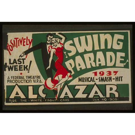 swing poster swing in america during the great depression
