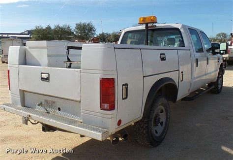 ford super duty truck bed for sale 2008 ford f350 super duty xl crew cab utility bed pickup