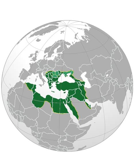 File Ottoman Empire Largest Borders Map Png
