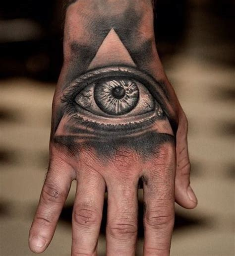 all seeing eye wrist tattoo collection of 25 the all seeing eye on wrist