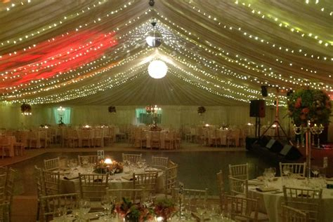 marquee lights marquee lighting hire in somerset south west marquees