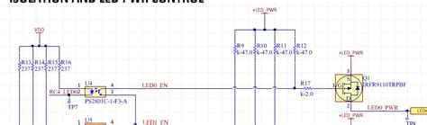 47k slope resistor pcb purpose of the series resistor in this schematic pfet gate electrical engineering