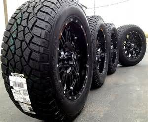 20 Inch Truck Wheels And Tires 20 Quot Black Wheels Tires Dodge Truck Ram 1500 20x9 Gloss