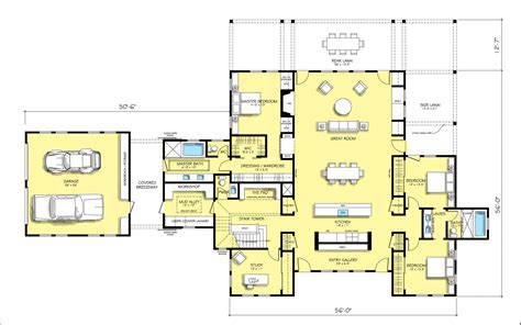 modern house layout contemporary farmhouse floor plans ahscgs
