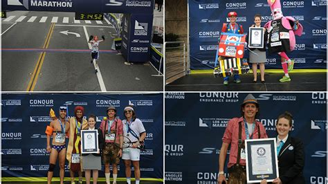 Los Angeles Records 2017 2017 Skechers Performance Los Angeles Marathon Meet The New Record Holders Guinness