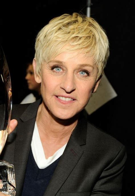 ellen degeneres 2014 haircut very short haircuts for women over 50
