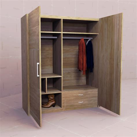 Model Wardrobe by Dynamic Wardrobes Set 10 3d Model Formfonts 3d Models