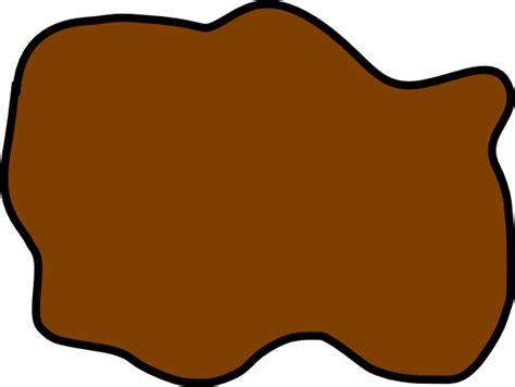Puddle Clipart brown mud puddle clip at clker vector clip royalty free domain