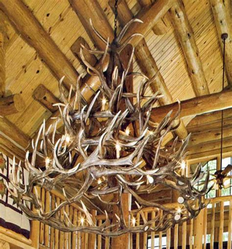 Adirondack Antler Chandelier Six Gorgeous Rustic Antler Chandeliers Hick Country