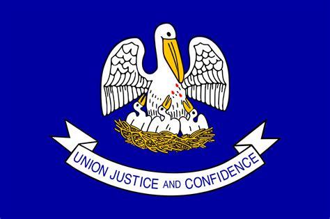 state of louisiana file louisiana state flag png wikimedia commons