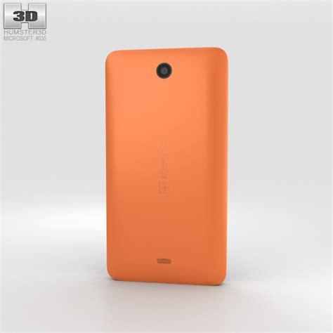 Microsoft Lumia 430 microsoft lumia 430 orange 3d model hum3d