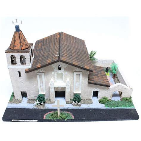 mission santa clara de asis floor plan california mission model kit santa clara de as 237 s cm