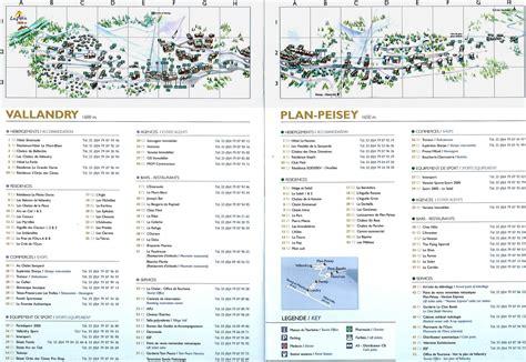 Situation dans Peisey Vallandry et Paradiski