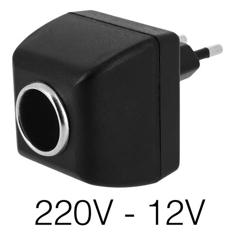 Adaptateur Allume Cigare 220v 4589 by Adaptateur Chargeur Allume Cigare Femelle Vers Prise