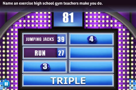 Family Feud Powerpoint Template Free Download Pictures Family Feud Template Free