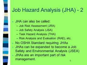 environmental health and hazard risk assessment principles and calculations books hazard analysis jha ppt