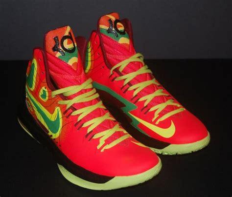 Kicks On Fire Giveaway - nike kd v quot weatherman on fire quot customs by jp custom kicks sneakernews com