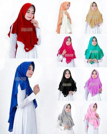 Khimar Instan Pad Syari Serut 44 best images on styles
