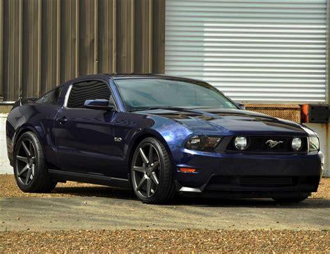 Wheels 2010 Ford Mustang Gt ford mustang gt vossen vvs cv7 matte graphite