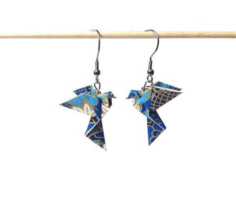Bijoux Origami - plus de 25 id 233 es uniques dans la cat 233 gorie bijoux origamis