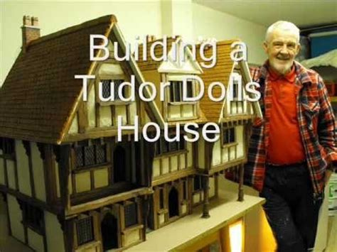 tudor dolls house plans building a tudor dolls house youtube