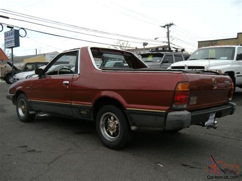 subaru brat turbo for sale 1984 subaru brat gl turbo standard cab 2 door 1 8l