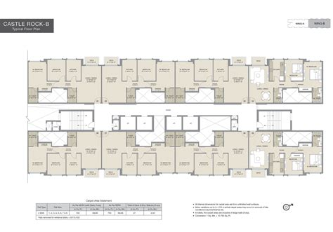 castle rock floor plans hiranandani castle rock