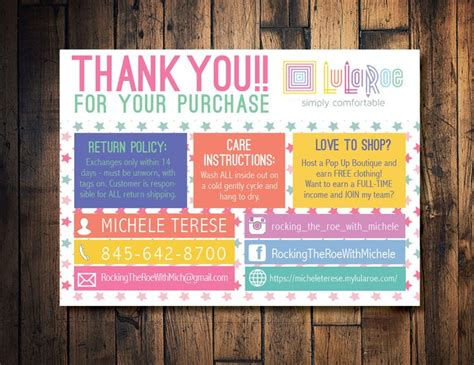 lula roe business card template 25 best ideas about lularoe consultant on