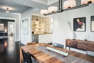 Small White Home Bar Home Bar Kitchen Transitional With Open Concept White