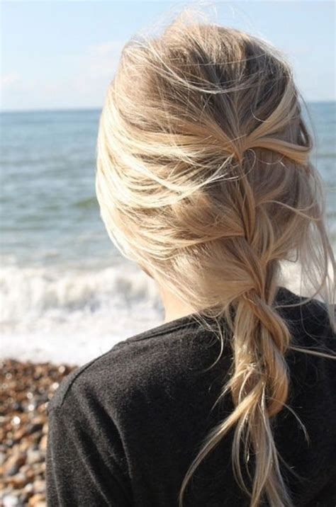 loose back braid 26 pretty braided hairstyle for summer popular haircuts