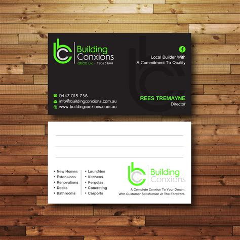 Building Business Card Designs
