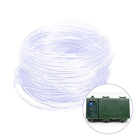 vmanoo rope lights 120 led battery operated string fairy christmas lighting decor timer for outdoor indoor garden patio lawn vmanoo rope lights 120 led battery operated string lighting decor with 5 modes