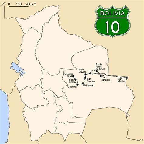wiki rutas ruta 10 bolivia wikipedia la enciclopedia libre