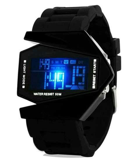Jam Tangan Led Cobra Transformer smc black digital led price in india buy smc black
