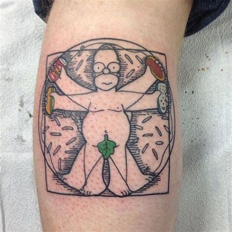 homer tattoo best 25 simpsons ideas on flash