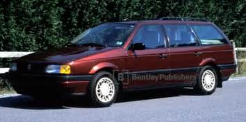 Bentley Publishers Vw Vehicle Images Vw Volkswagen Repair Manual Passat